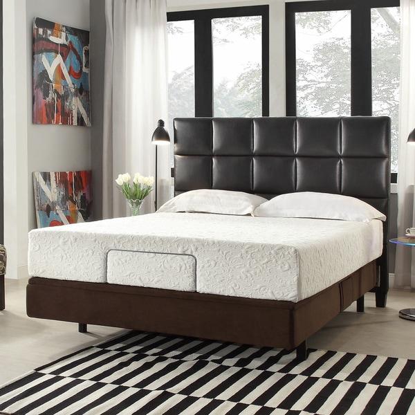 INSPIRE Q 12-inch King-size Medium Plush Memory Foam Mattress