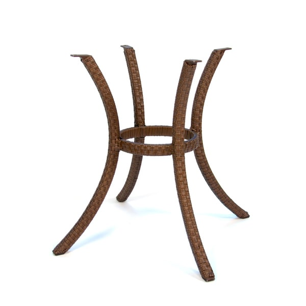 Square Woven Dining Table Base