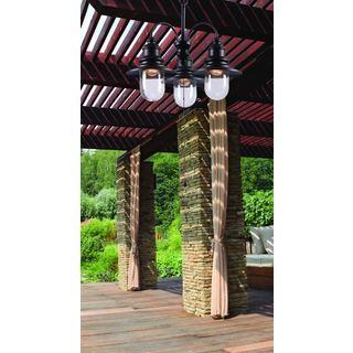 Chandeliers Garden & Patio - Shop The Best Deals For Apr 2017:Visp 3-light Outdoor Chandelier,Lighting