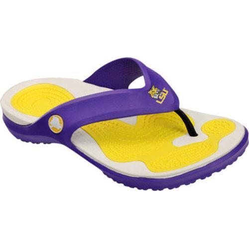 Crocs MODI LSU Flip Ultraviolet
