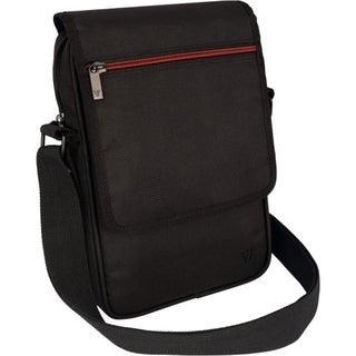 "V7 Premium Carrying Case (Messenger) for 8.1"" iPad mini, Tablet - Bla"