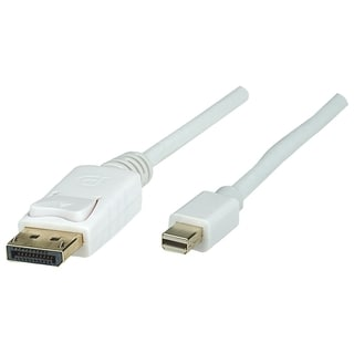 Manhattan Mini DisplayPort Mini/Male Monitor Cable, 10', White