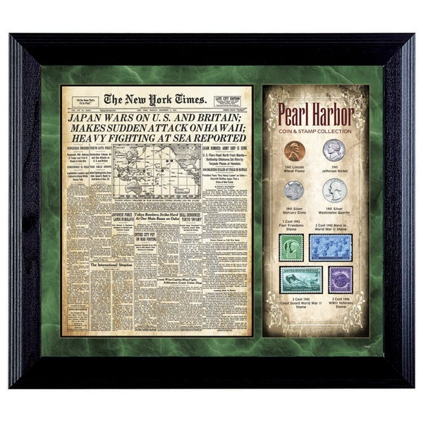 American Coin Treasures New York Times Pearl Harbor Coin & Stamp Collection