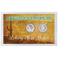 American Coin Treasures America's Frontier Liberty Nickels