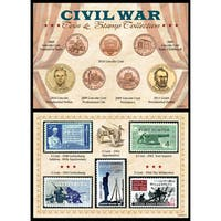 American Coin Treasures Civil War Coin & Stamp Collection