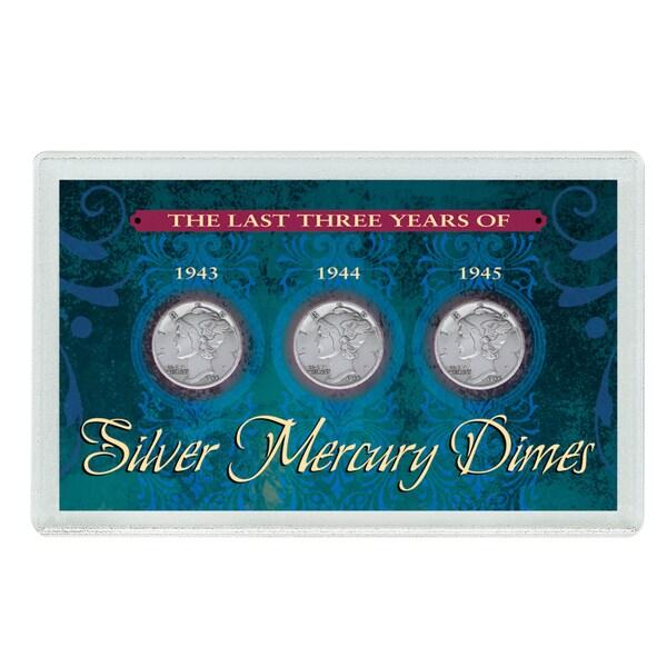 American Coin Treasures Last Three Years of Silver Mercury Dimes