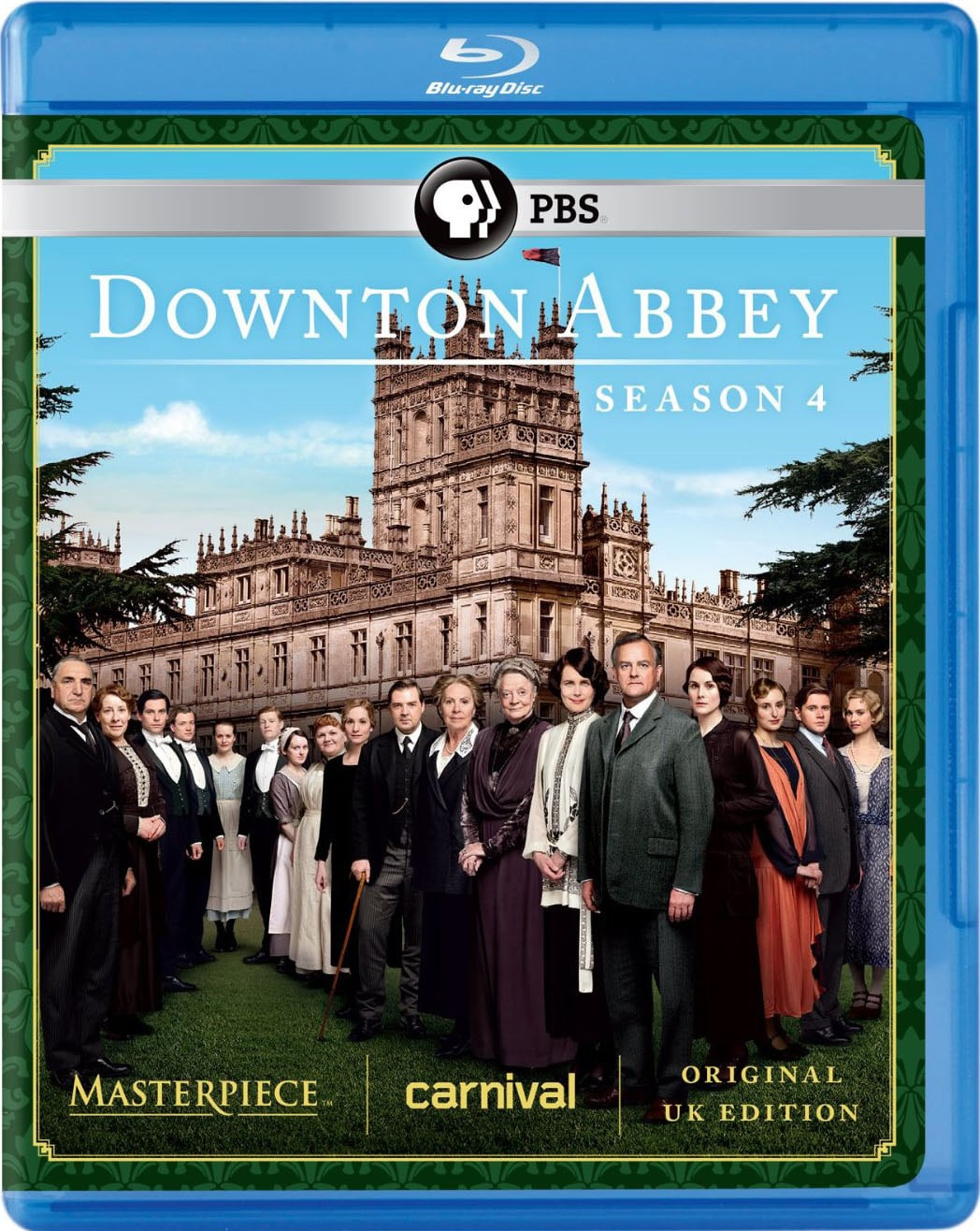 Downton Abbey: Season 4 (Blu-ray Disc)