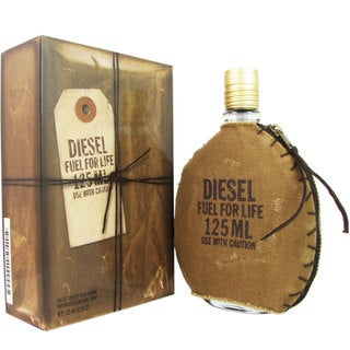 Diesel Fuel For Life Men's 4.2-ounce Eau de Toilette Spray