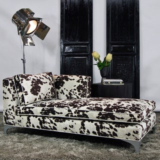 JAR Designs 'Dakota' Brown Right-hand Chaise