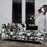 JAR Designs 'Dakota' Black Right-hand Chaise