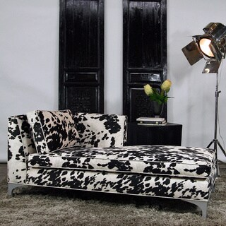 JAR Designs 'Dakota' Black Right-hand Chaise