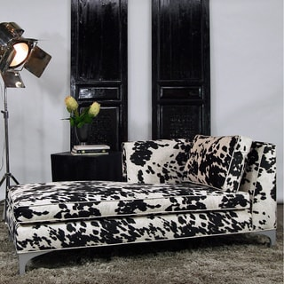 JAR Designs 'Dakota' Black Left-hand Chaise