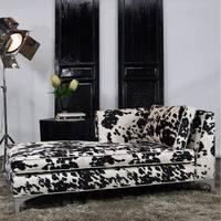 JAR Designs 'Dakota' Black Left-hand Chaise