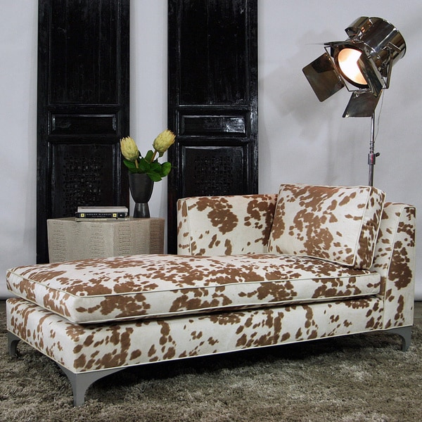 JAR Designs 'Dakota' Tan Chaise