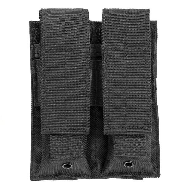 NcStar Double Pistol Mag Pouch Black