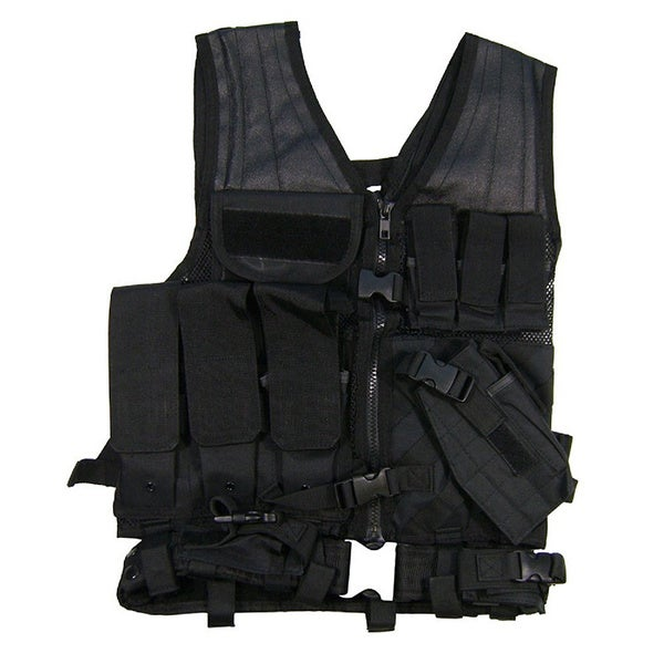 NcStar Tactical Vest Black M-XL