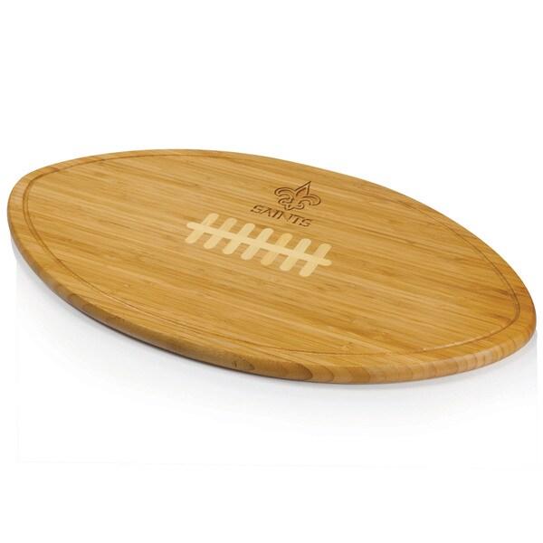 Picnic Time Kickoff University of Hawaii Warriors Engraved Natural Wood Cutting Board