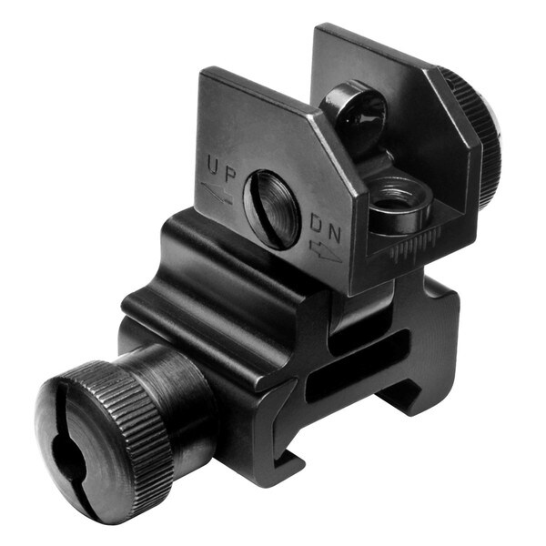 NcStar AR15 Flip-up Rear Sight