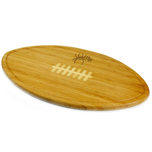 Picnic Time Kickoff University of Richmond Spiders Engraved Natural Wood Cutting Board