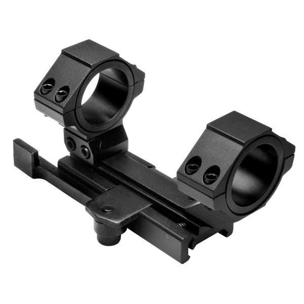 NcStar Cantilever Scope Mount with 30mm Rings and 1-inch Inserts