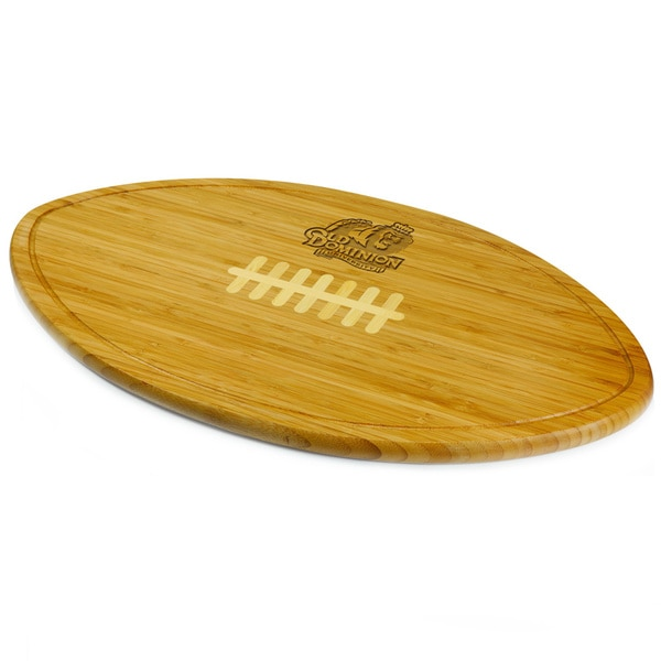 Picnic Time Kickoff Old Dominion University Monarchs Engraved Natural Wood Cutting Board