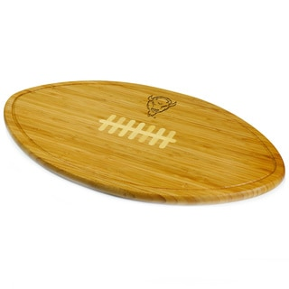 Picnic Time Kickoff Marshall University Thundering Herd Engraved Natural Wood Cutting Board