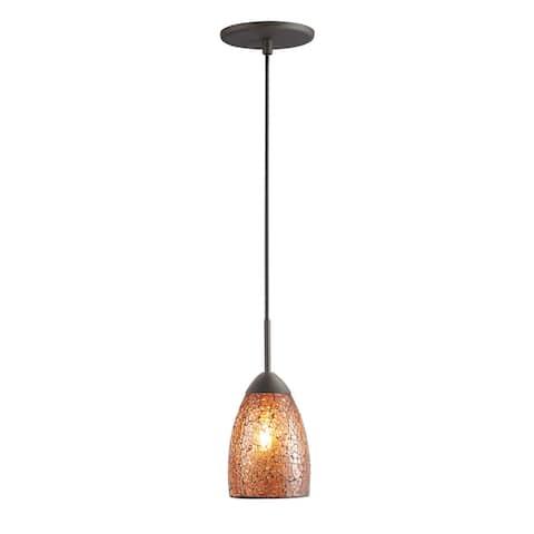 Woodbridge Lighting 1322MEB-M20 Venezia Mini-pendant