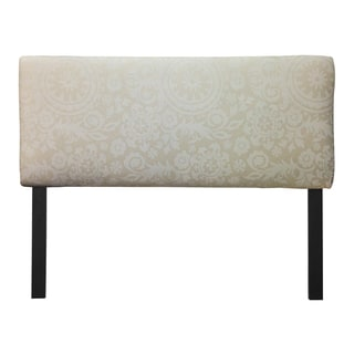 Upholstered Natural Suzani Cloud Headboard