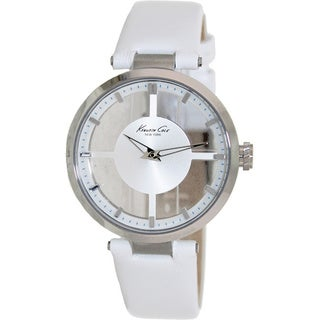 Kenneth Cole Women's Transparency KC2609 Leather Watch