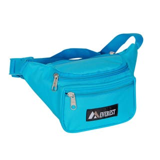 Everest 11.5-inch Wide Signature Fanny Pack|https://ak1.ostkcdn.com/images/products/8357994/Everest-11.5-inch-Wide-Signature-Fanny-Pack-P15665980.jpg?impolicy=medium