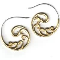Handmade Sacred Swirls Tribal Fusion Earring (Indonesia)