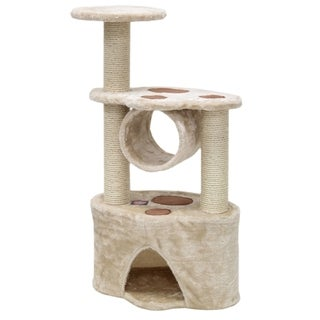 Majestic Pet 37-inch Casita Fur Cat Tree