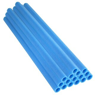 Upper Bounce 37-inch Blue Trampoline Pole Foam Sleeves (Set of 16)