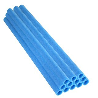 Upper Bounce 33-inch Blue Trampoline Pole Foam Sleeves (Set of 12)