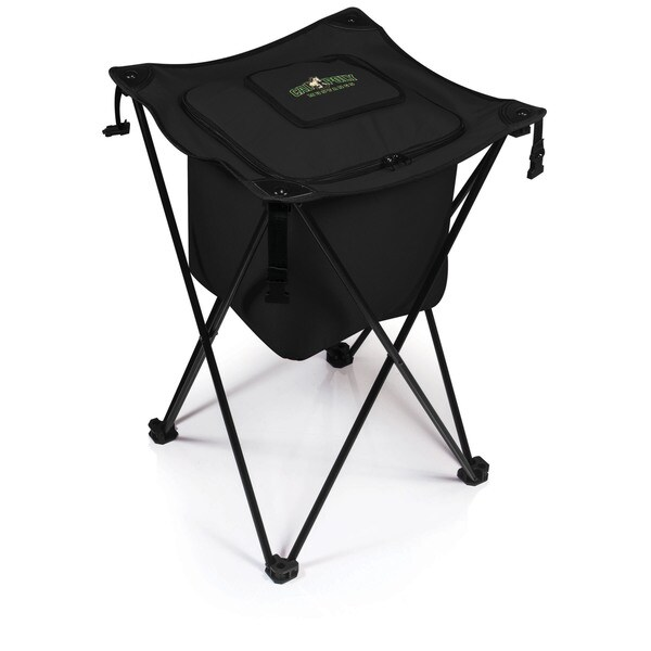Picnic Time California Polytechnic State University Mustangs Sidekick Cooler - Black