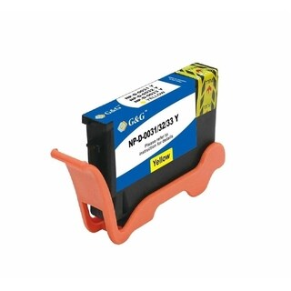 Insten Yellow Non-OEM Ink Cartridge Replacement for Dell Series 31/ 32/ 33/ 34
