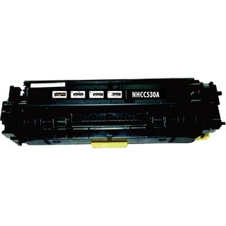 INSTEN Black Color Toner Cartridge for HP CC530A