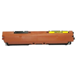 INSTEN Yellow Toner Cartridge for HP CE312A Canon 126A