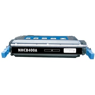 INSTEN Black Color Toner Cartridge for HP CE400A