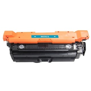 INSTEN Cyan Color Toner Cartridge for HP CF031A