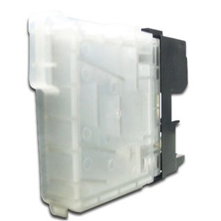 Refilled Insten Black Non-OEM Ink Cartridge Replacement for Brother LC65BK
