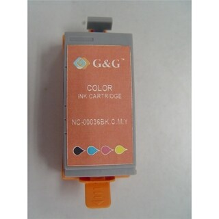 Insten Color Non-OEM Ink Cartridge Replacement for Canon CLI-36B/ C/ M/ Y/ 36 B/ C/ M/ Y