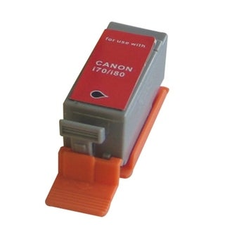 Refilled Insten Black Non-OEM Ink Cartridge Replacement for Canon BCI-15Bk/ 15 BK