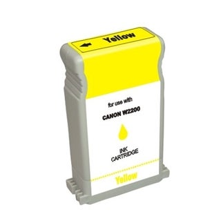 INSTEN Yellow Ink Cartridge for Canon BCI-1302Y