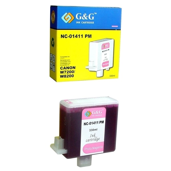 Insten Photo Magenta Non-OEM Ink Cartridge Replacement for Canon BCI-1411PM/ 1411 PM