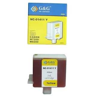 INSTEN Yellow Ink Cartridge for BCI-1411Y