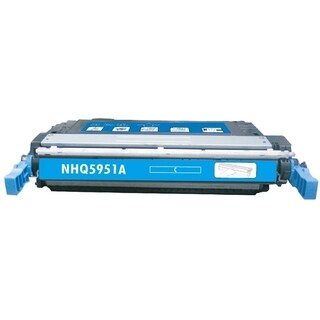 INSTEN Cyan Color Toner Cartridge for HP Q5951A