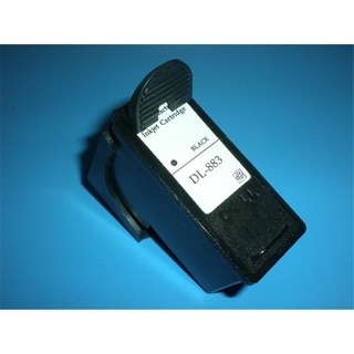 INSTEN Remanufactured Black Ink Cartridge for Dell CH883 Series 7