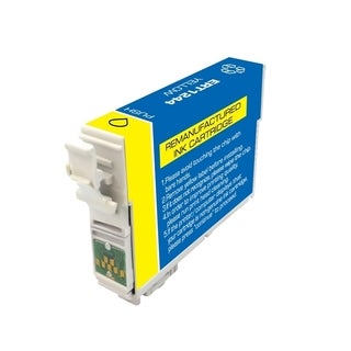 INSTEN Remanufactured Yellow Ink Cartridge for Epson T124420
