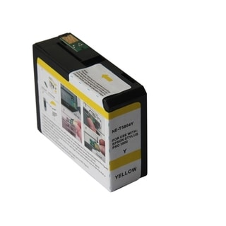 INSTEN Remanufactured Yellow Ink Cartridge for Epson T5804Y